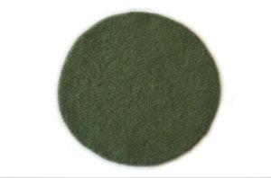 Sittunderlag i ull, grönt