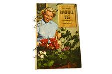 "Anteckningsbok ""Blomsterbok"" med handgjort papper"